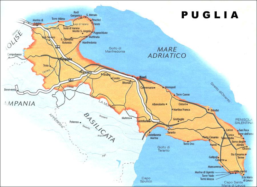 karta brindisi italien Continent Holiday & Travel karta brindisi italien
