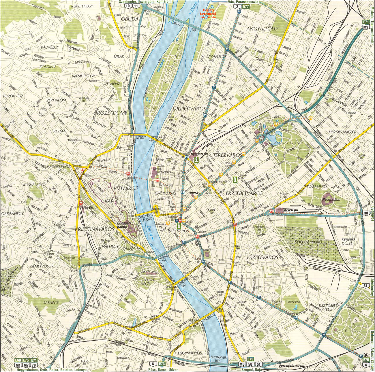 karta budapest Continent Holiday & Travel karta budapest