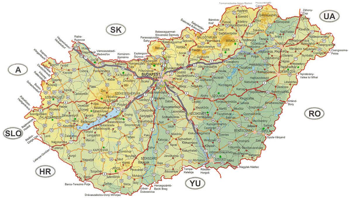 karta balatonsjön Continent Holiday & Travel karta balatonsjön
